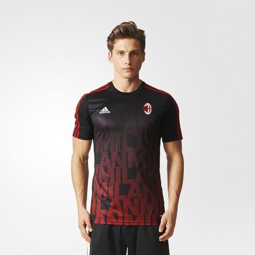Adidas en línea: jersey AC Milan local pre-match