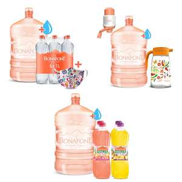 Bonafont: garrafón + promociones