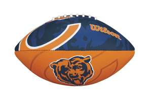 Amazon: Balón NFL Wilson tamaño Junior (Chicago Bears)