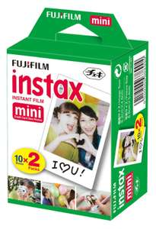 Amazon MX: Fujifilm Instax paquete doble de película para tomar 20 fotos