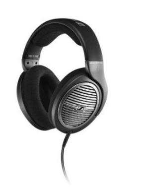 Amazon: Audífonos de diadema Sennheiser HD 518