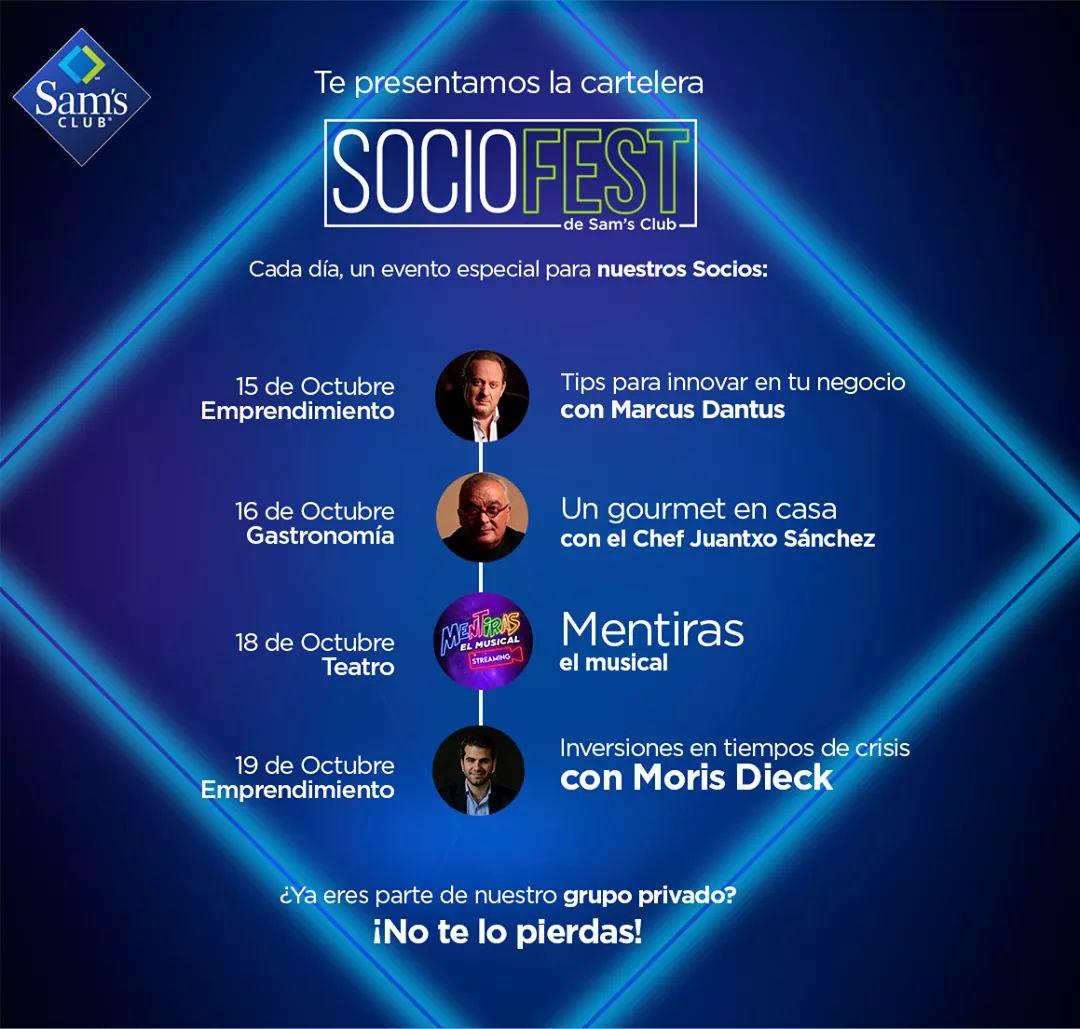 Sam's Club: Eventos Especiales Para Socios Durante el Socio Fest