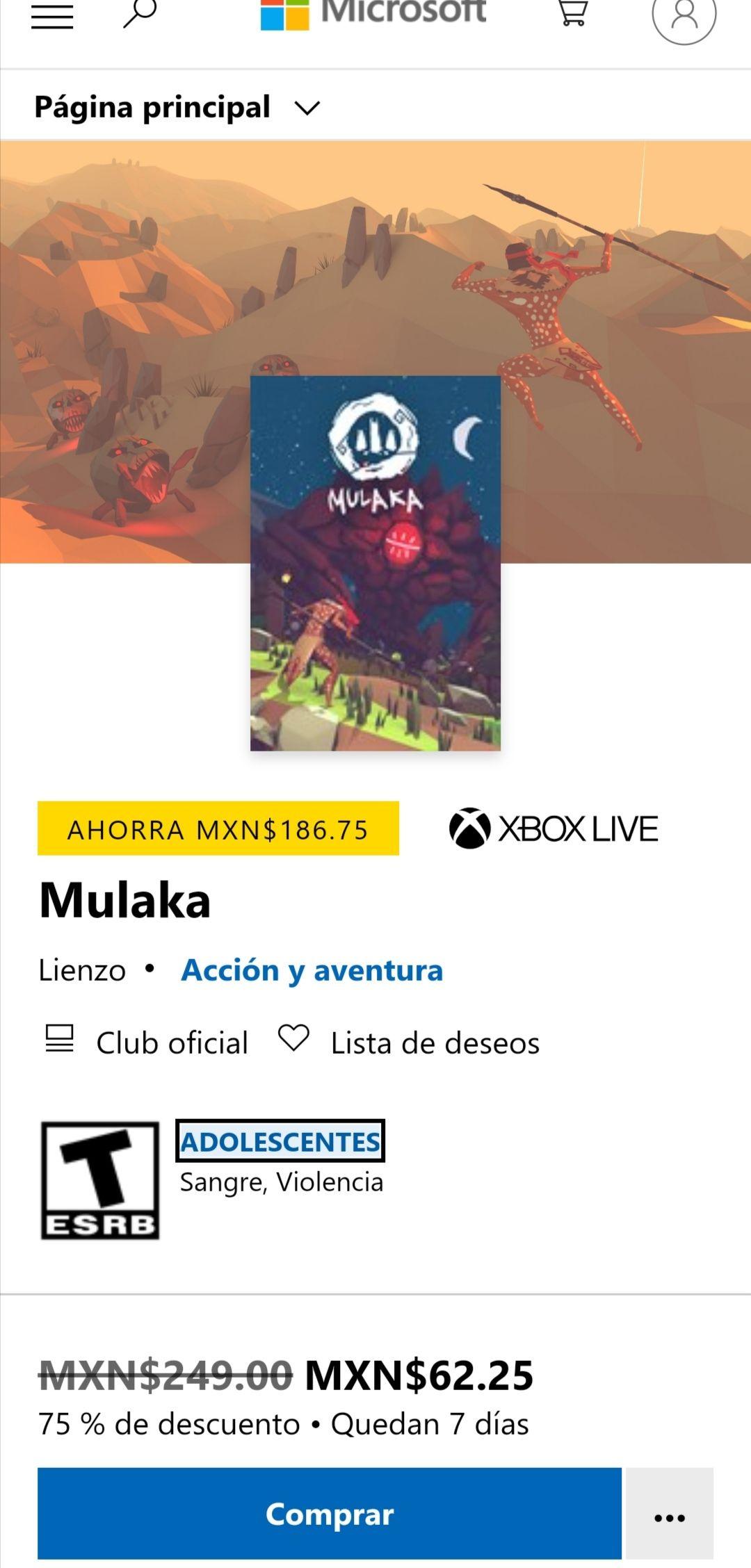 Microsoft Store: Mulaka Juego mexicano.