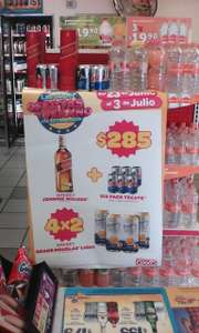 OXXO: Red Label con six de Tecate gratis