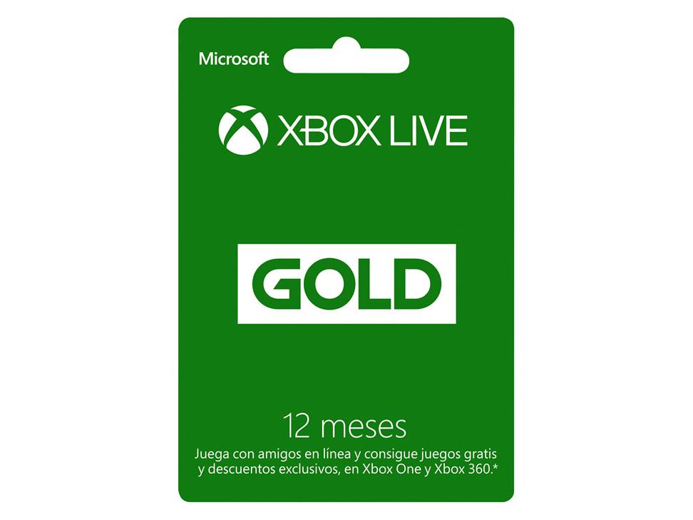 Liverpool: Xbox Live Gold de 12 meses de $999 a $637