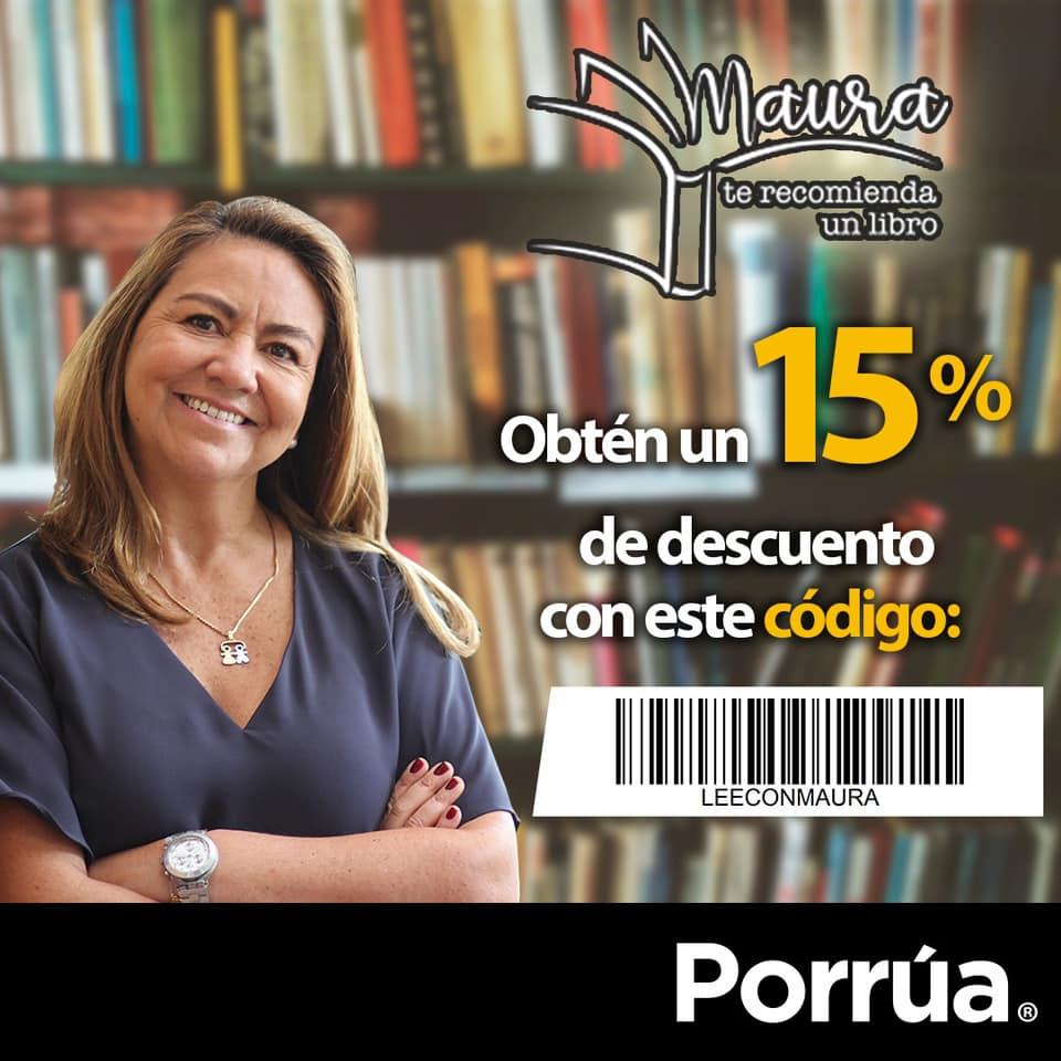 Librerias Porrua: cupón del 15% en compras en línea o tienda válido todo el año 2020