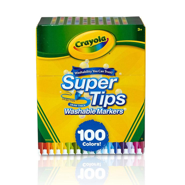 Costco, Plumones Crayola Supertips 100