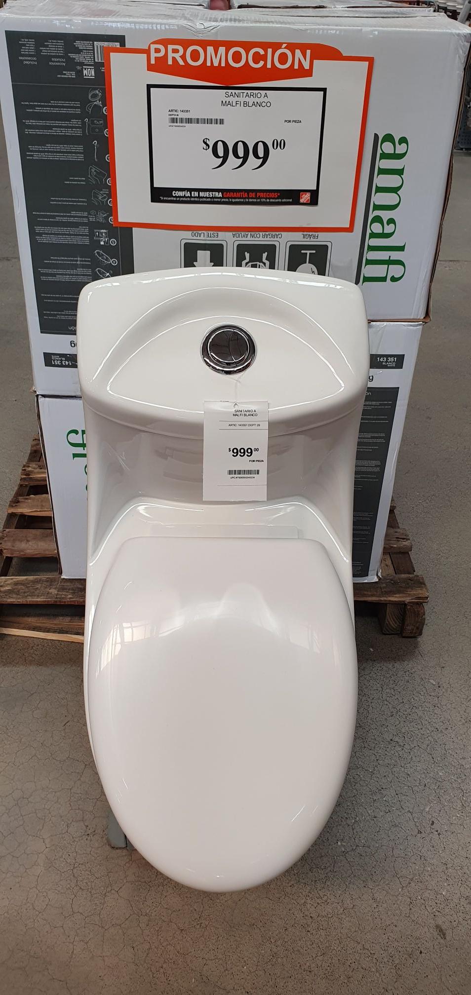 Home Depot: Tasa de baño amalfi