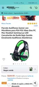 Amazon - Audífonos gamer