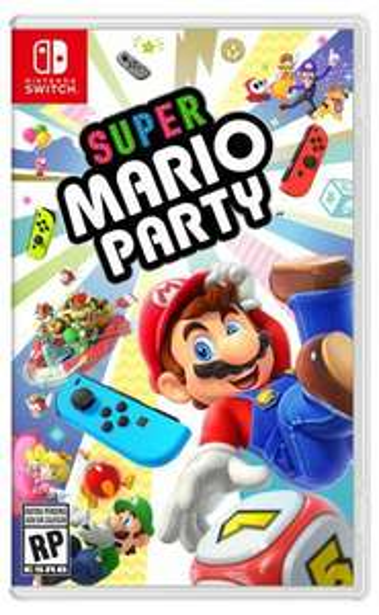 Heb:Nintendo Videojuego Switch Super Mario Party