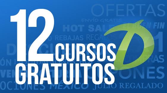 12 cursos GRATIS (algunos impartidos por universidades)