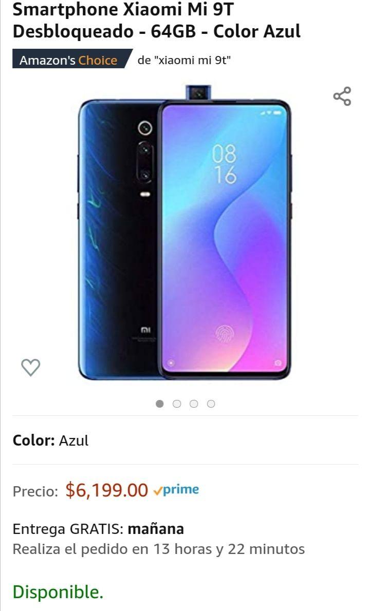 Amazon: Xiaomi Mi 9T