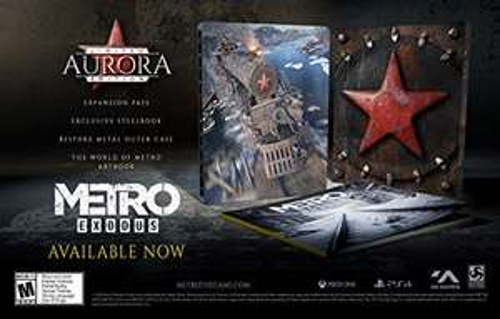 Amazon: Metro Exodus Aurora Limited Edition PS4 (Caja Metálica y Artbook) (Aplica Prime)