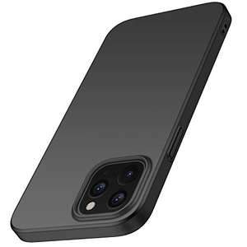 Amazon: Funda iPhone 12 Pro MAX, Plastico Rígido Cover Case para iPhone 12 Pro MAX (Negro)