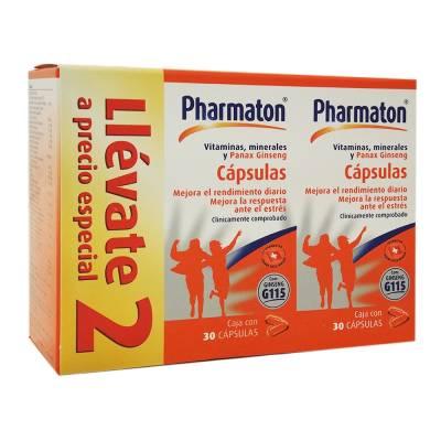 Superama en línea: Pharmaton 2 Frascos de 30 capsulas (60 en total) por $119