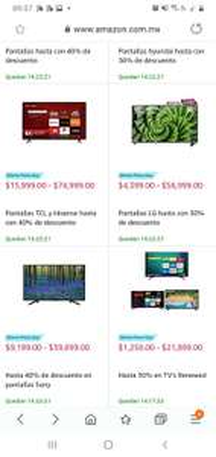 Amazon: Prime day Pantallas hasta con 40% de descuento