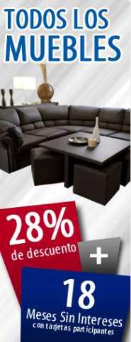 Famsa.com: 20% de descuento y 18 MSI en todos los muebles