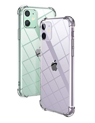 Amazon: UGREEN Funda para iPhone 11, Transparente Carcasa Impermeable de TPU para iPhone 11 con Absorcion de Impactos,