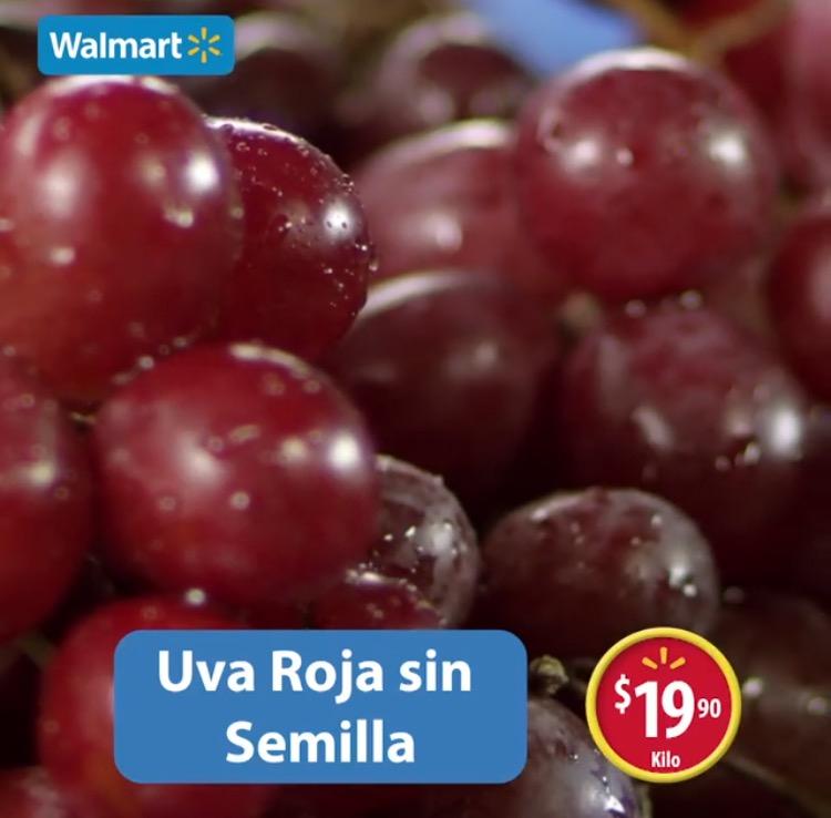 Martes de frescura en Walmart junio 28: Uva roja sin semilla a $19.90 el kilo y más