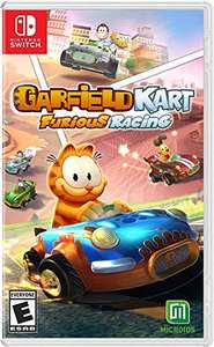 Amazon: Garfield Kart Furious Racing Nintendo switch