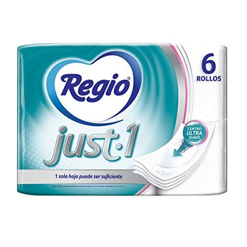 Amazon: Regio Just 1 Paq. De 6 Rollos en $40.00 y Paq. De 12 Rollos en $80.00