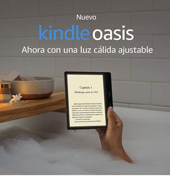 Amazon: KINDLE OASIS 10ma GENERACIÓN PRECIO HISTÓRICO MAS BAJO CON CITIBANAMEX