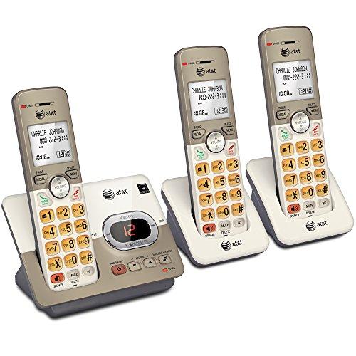 Amazon: Teléfono inalámbrico AT&T 3 Auriculares