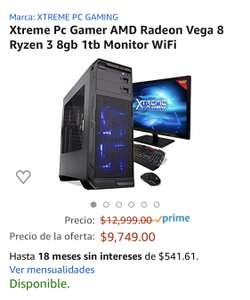 Amazon Prime Day 2020: Xtreme PC Gamer Ryzen 3