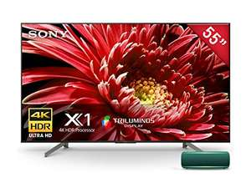 "Amazon: Android TV Sony 55"" XBR-55X850G 4K UHD (HDR) + Speaker SRS-XB22 de Regalo con banorte digital"
