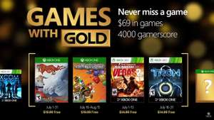 Xbox Live: Games With Gold Julio 2016