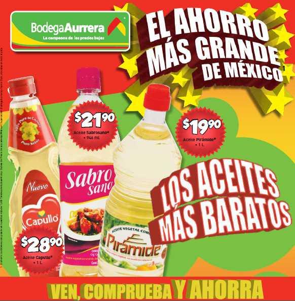 Folleto Bodega Aurrerá: ofertas en detergentes, desodorantes, leche Nido y más