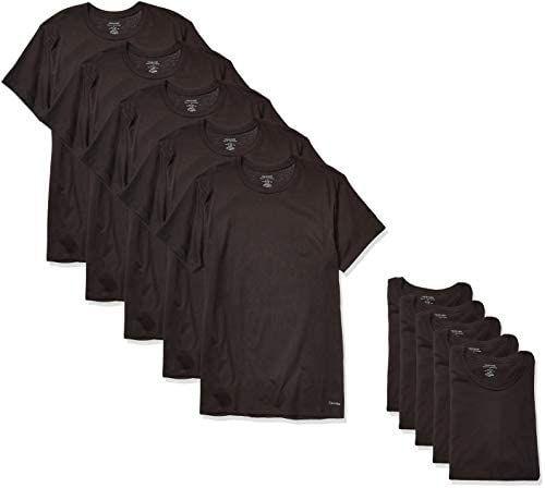 Amazon Prime Day: Calvin Klein - Pack de 5 T-Shirts clásicas - Disponibles en tallas: CH, M y G.