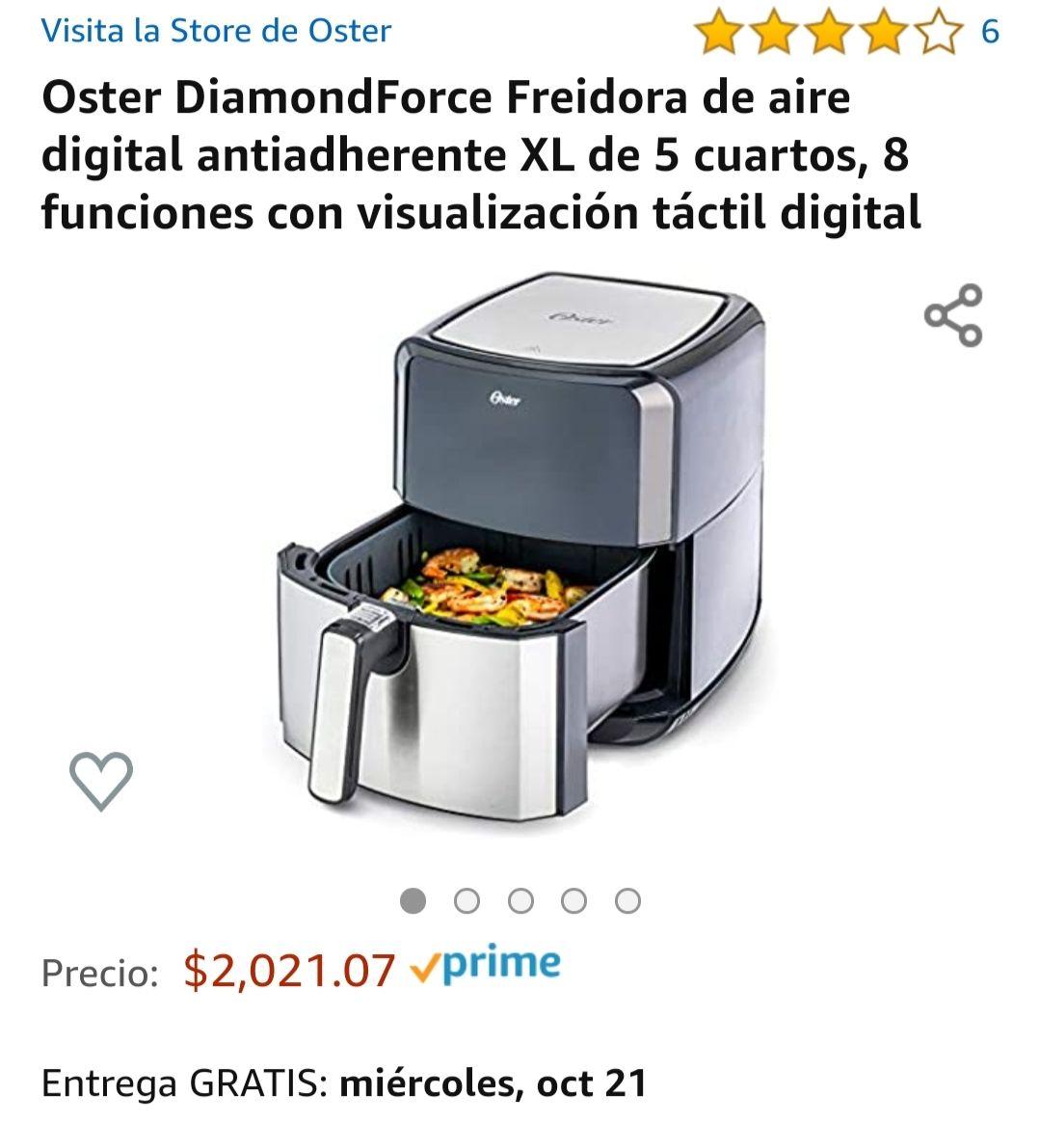 Amazon: Freidora de aire Oster