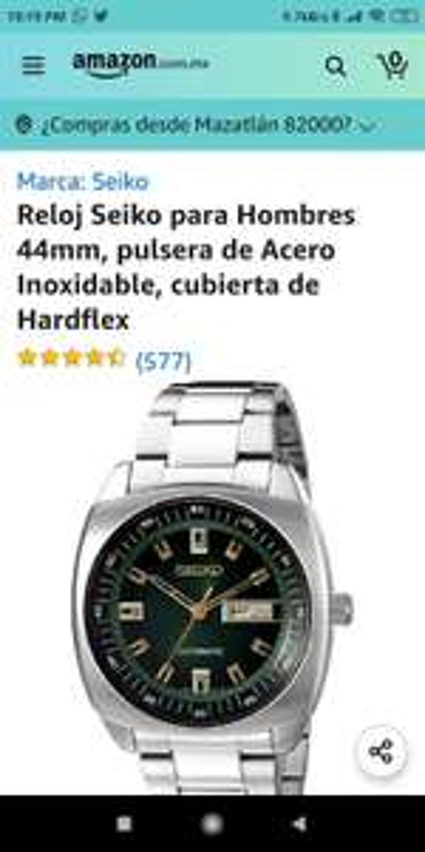 Amazon: Reloj Seiko recraft snkm97