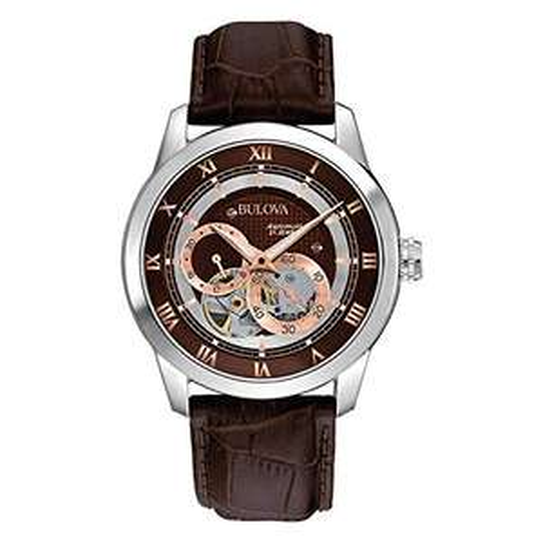 Amazon: Reloj Bulova Mechanicals para Hombres 41mm Banorte