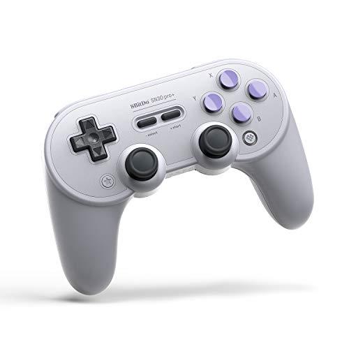 Amazon: 8Bitdo Sn30 Pro+ Bluetooth Gamepad (Black Edition) Nintendo Switch