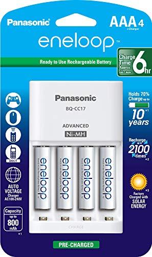 AMAZON Panasonic K-KJ17M3A4BA - Cargador (AA,AAA, Níquel-Metal