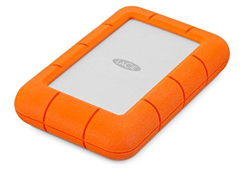 Amazon : LaCie Rugged Mini 4TB Disco duro externo portatilHDD – USB 3.0 USB 2.0 compatible. Marca: LaCie
