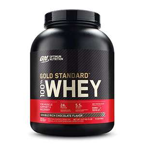 Amazon: Optimum Nutrition Gold Standard 100% Whey Doble Chocolate Bote 5 LB / Amazon