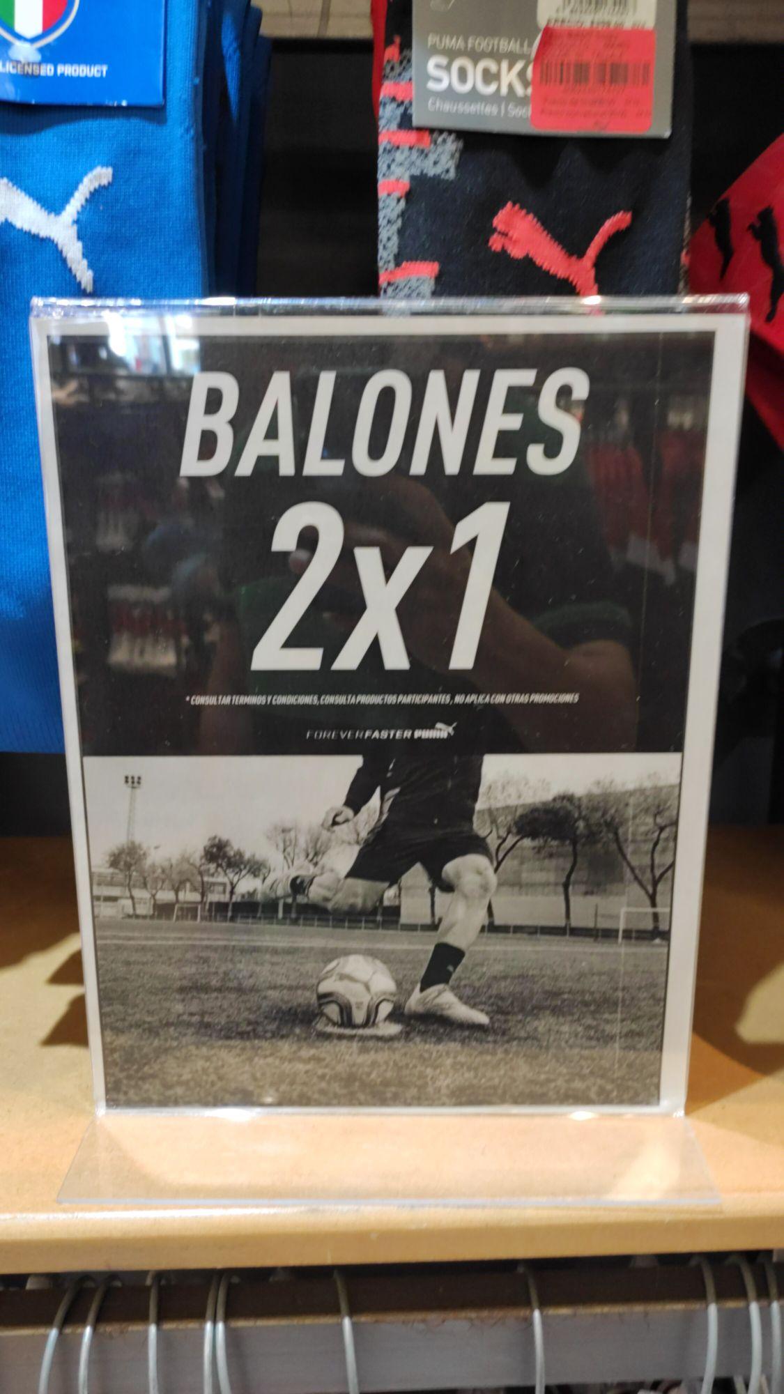 Puma: Balones de Futbol al 2X1 (Tienen número 3)