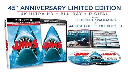 AMAZON: Jaws (Tiburon) en 4k Edición de 45 Aniversario