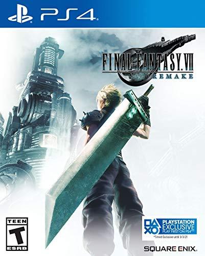 Amazon: Final Fantasy VII Remake PS4