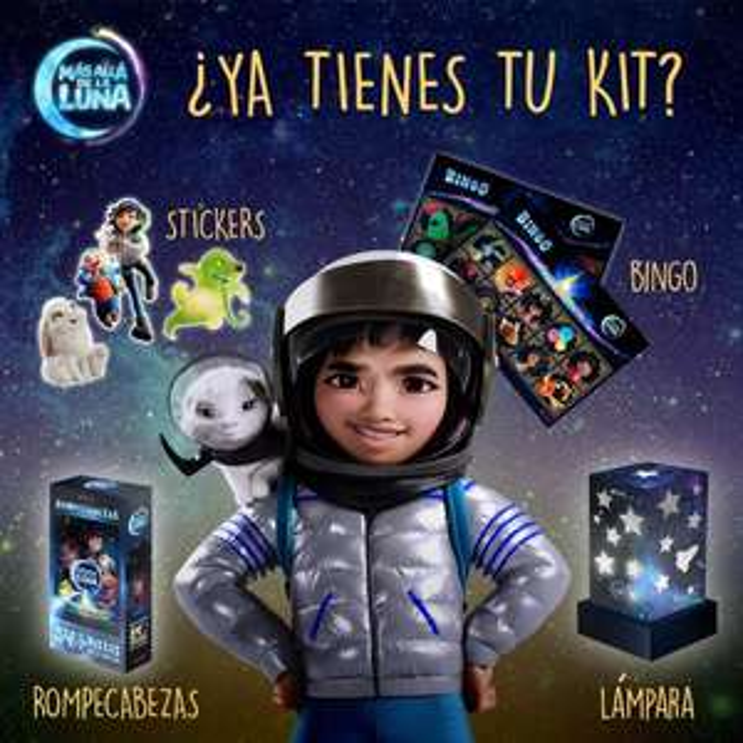 Netflix: Kit de Exploradores Espaciales GRATIS
