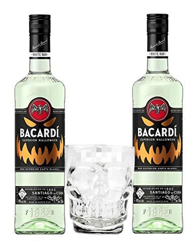 Amazon 2 Botellas Bacardí Edición Halloween + Tarro de Regalo Envío Gratis