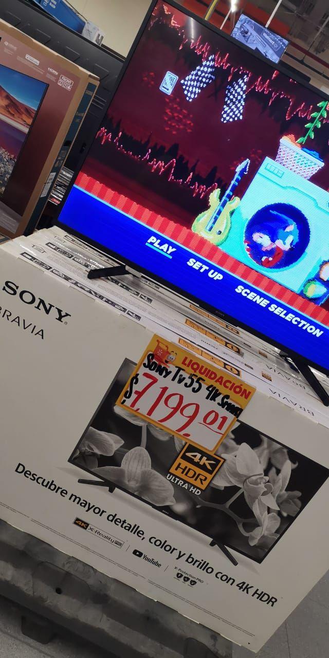 """Walmart, Televisión Sony Bravia HDR 55"""""""
