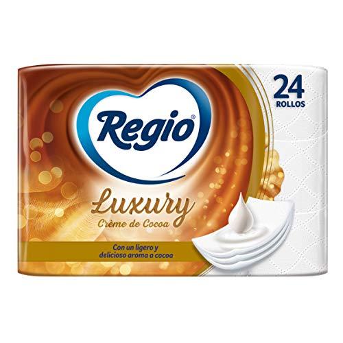 Amazon: Regio Papel Higiénico 24 Rollos Creme De Cocoa