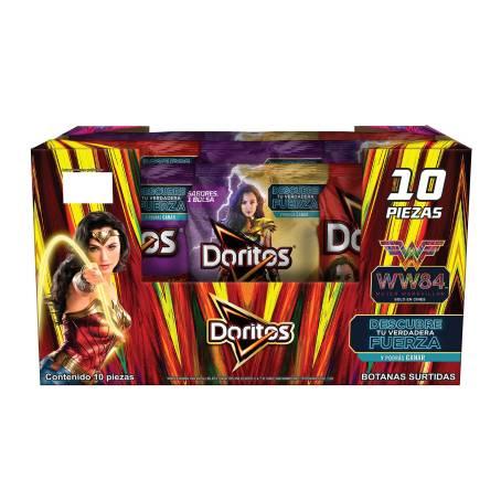 Sam's Club: Caja de 10 bolsas de Doritos surtido (61grs c/u)