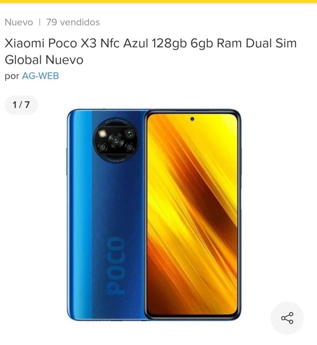 Tienda Oficial AG-WEB Mercado Libre Xiaomi Poco X3 Nfc 128Gb