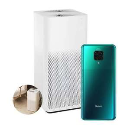 Sam's Club, Smartphone Xiaomi Redmi Note 9 Pro Verde Desbloqueado + Mi Air Purifier 2H