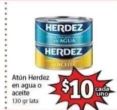 Soriana Mercado: Atún en Agua o Aceite Herdez $10 . Aceite 123 1 litro $22. SUAVEL 12 rollos $29 y más